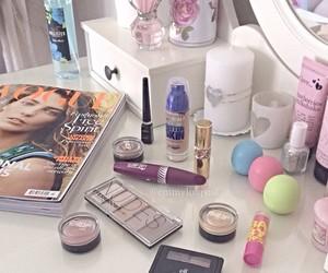 makeup and baby lips image