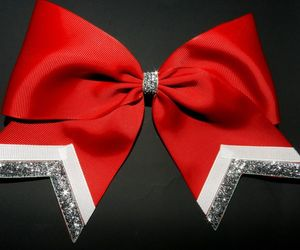 cheerleading, bow, and etsy image
