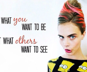 quote, model, and cara image