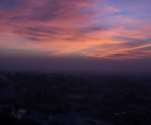 amazing, sunset, and la image