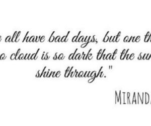 quote, girly, and good day image
