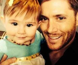 baby and Jensen Ackles image