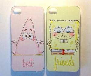best friends, patrick, and spongebob image