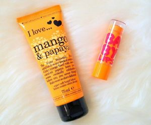 orange and baby lips image