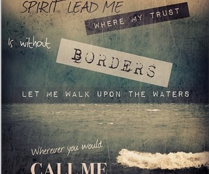 oceans, borders, and spirit lead me image