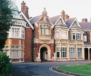 vintage, bletchley park, and house image