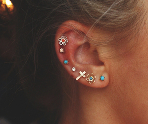 earrings, fashion, and photography image