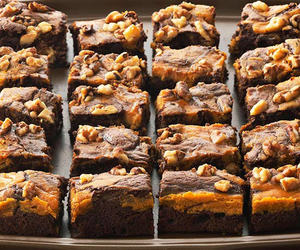 brownie, chocolate, and cookie image