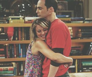 penny, the big bang theory, and sheldon image