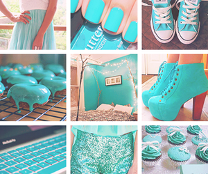 blue, shoes, and nails image