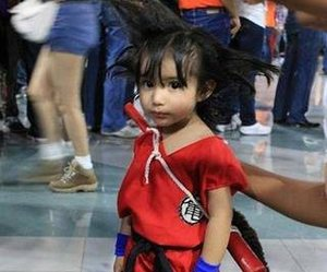 cosplay, enfant, and kid image