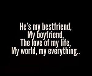 love, boyfriend, and bestfriend image