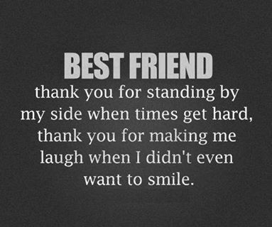 best friends, love, and thank you image