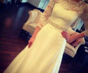 beautiful, dress, and romantic image