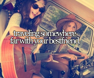 travel, friends, and quotes image