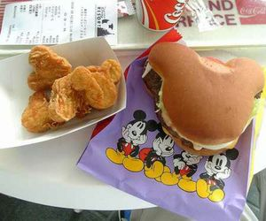 food, disney, and mickey image