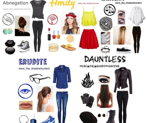 divergent, outfit, and shoes image