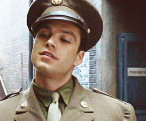 bucky barnes, sebastian stan, and Marvel image