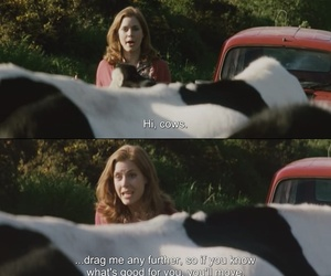 Amy Adams, animals, and cows image