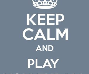 keep calm and volleyball image