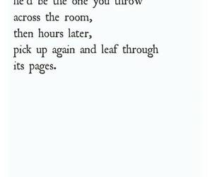 book, love, and pages image