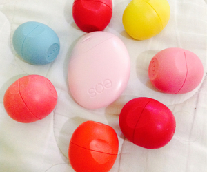 eos, lip balm, and lotion image
