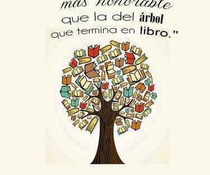 book, text, and tree image