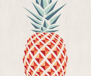 pineapple, fruit, and ananas image