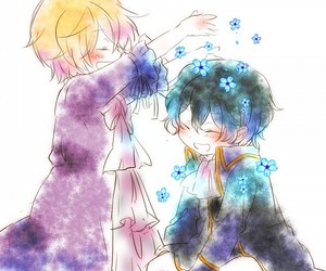 pandora hearts, vincent nightray, and gilbert nightray image