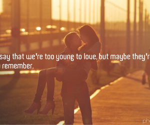 remember, young, and love image