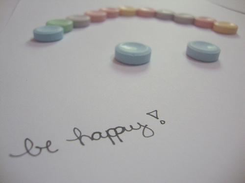 Don't worry,be happy ♪ ♫ ♩ ♬ ♭