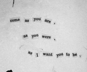 black and white, Lyrics, and nirvana image