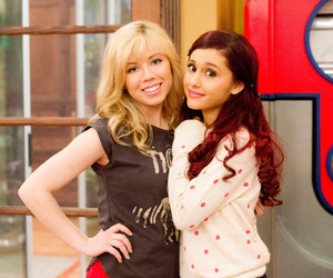 ariana grande, cat, and jennette mccurdy image