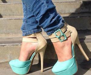 blue, cool, and heel image