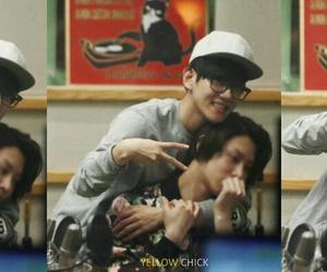 baekhyun, exo, and heechul image