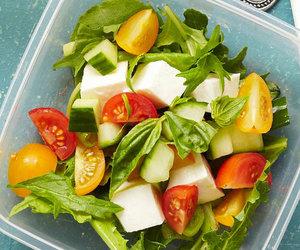 food, salad, and veggies image
