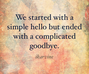 quote, hello, and complicated image