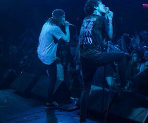 oliver sykes, vic fuentes, and bring me the horizon image