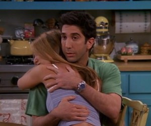 Jennifer Aniston, ross, and ross geller image
