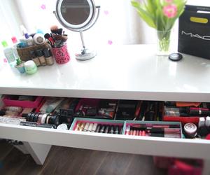 makeup, cosmetics, and mac image