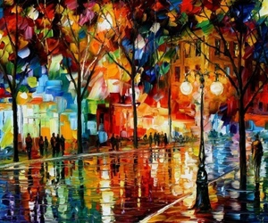 art, colorful, and city image