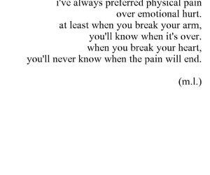 quote, sad, and pain image