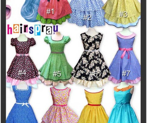 50's, dance, and dresses image