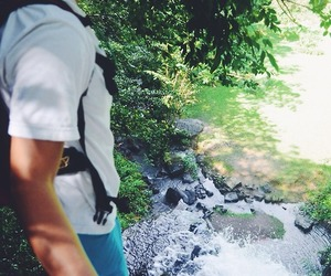 hike, water, and cute image