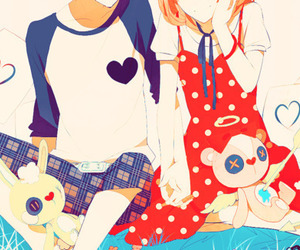 anime girl, happy tree friends, and anime boy image