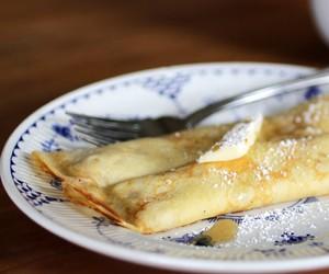 breakfast, pancakes, and swedish image
