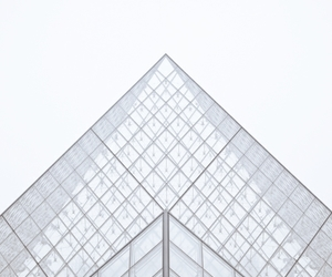 paris, architecture, and louvre image