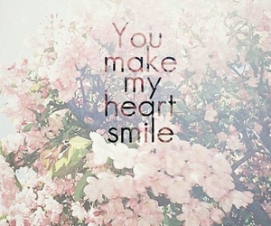smile, love, and heart image