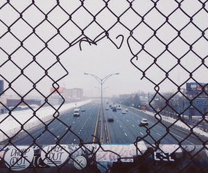 cars, city, and grunge image