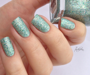 glitter, nail art, and nail polish image